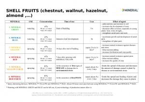 Program for use - Shell fruits 2019-1